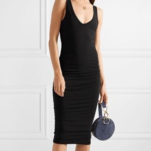 James Perse Bodycon Side Ruched Dress sz. 2